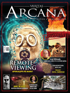center opening Photo in the first addition of the respectable Magazine Veritas Arcana 2020