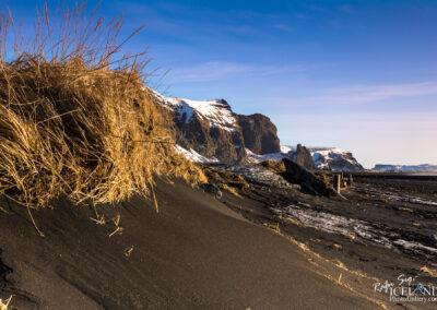 Vík village and Black Beach - South │ Iceland Landscape Photo