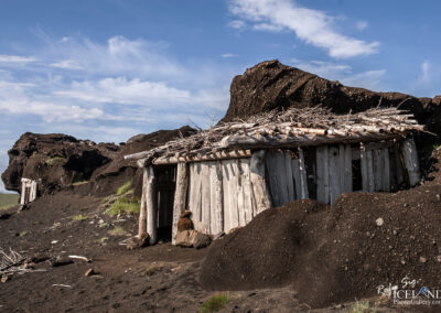The remaining's of the Icelandic film set Beowulf & Grendel