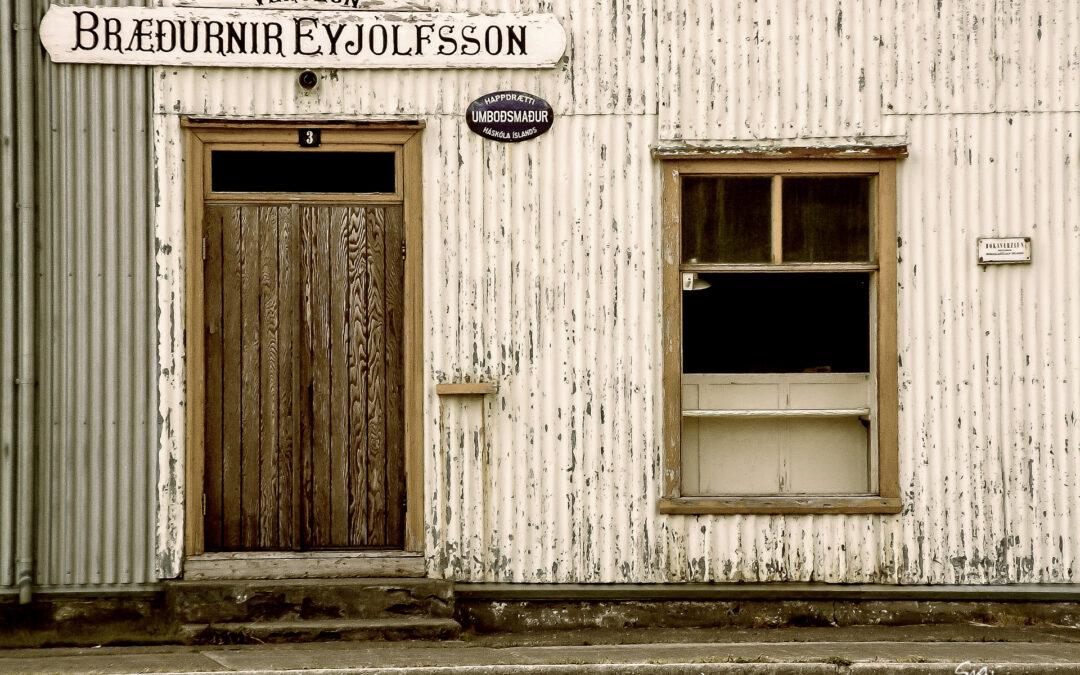Verslun Bræðurnir Eyjólfsson │ Flateyri – Westfjords – Iceland
