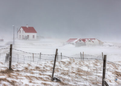 Austurkot 1 Farm at Vatnsleysuströnd │ Iceland Winter Landscape