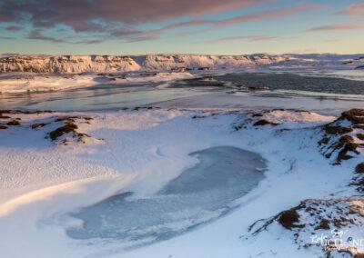 Hlíðarvatn, winter daybreak │ Iceland Landscape Photography