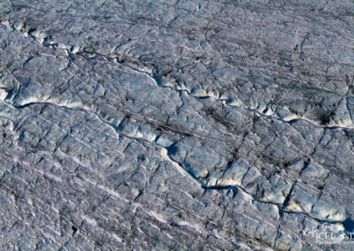 Patterns in Vatnajökull Glacier │ Iceland Landscape from Air