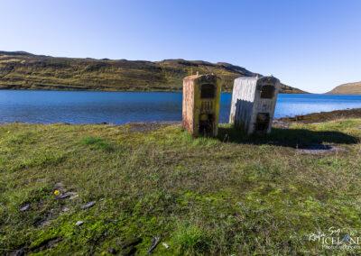 Abandoned Herring Factory Eyri at Ingólfsfjörð - Westfjords
