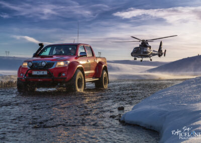 Arctic Trucks and Norðurflug Advertisement at Hengill│ Icelan