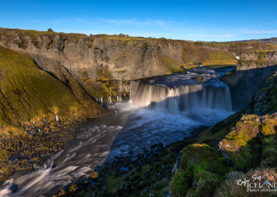 Axlarfoss waterfall - Highlands │ Iceland