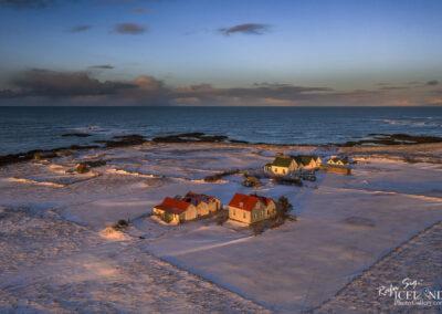 Bakki and Litlibær farmhouses - South West │ Iceland Landscap