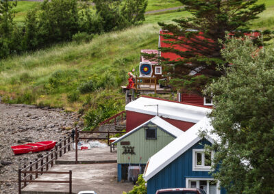 Bílduddalur village - Westfjords │ Iceland City Photography