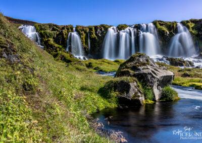 Bláfjallakvísl Waterfall at Syðri-Fjallabak │ Iceland Lands