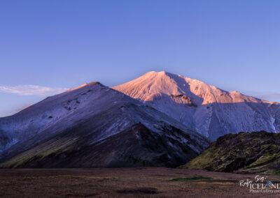 Bláhnúkur Mountain in Landmannalaugar │ Iceland Highland