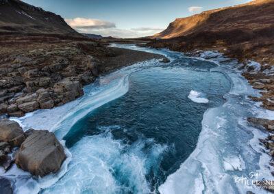 Botnsá River in Hvalfjörður bay - South West │ Iceland Land