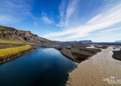 River Núpsvötn on Skeiðarársandur, south coast Iceland.