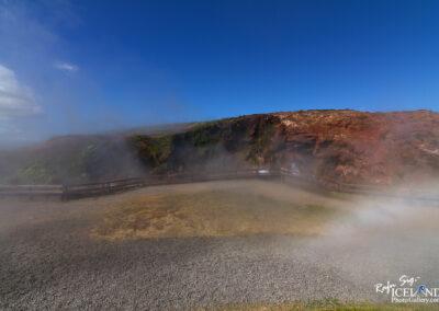 Deildartunguhver hotspring in Reykholtsdalur - West │ Iceland