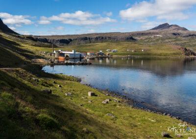 Djúpavík village - Westfjords │ Iceland Landscape Photograph