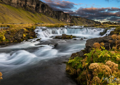 Fossálar waterfalls - South │ Iceland Landscape Photography