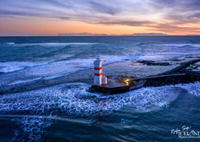 Garðskagaviti Old Lighthouse - South West │ Iceland Landscape