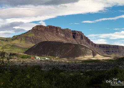 Grábrók Volcano crater - West │ Iceland Landscape Photograph
