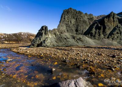 Grænagil at Landmannalaugar Geothermal Highlands are │ Icelan