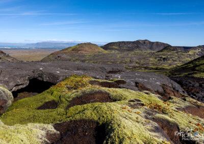 Grindarskörð with crater Miðbolli - South West │ Iceland La