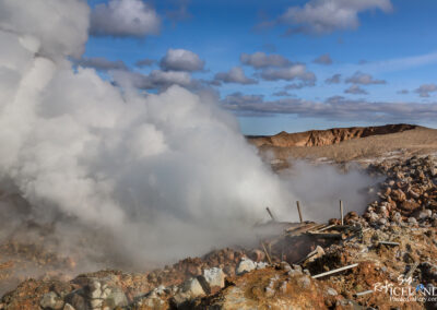 Gunnuhver geothermal area - South West │ Iceland by drone