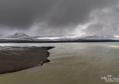 Hágöngulón Lake in the Highlands │ Iceland Landscape from A