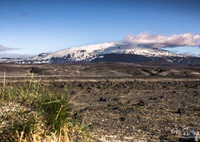 Hekla Volcano and Glacier │ Iceland Landscape Photography