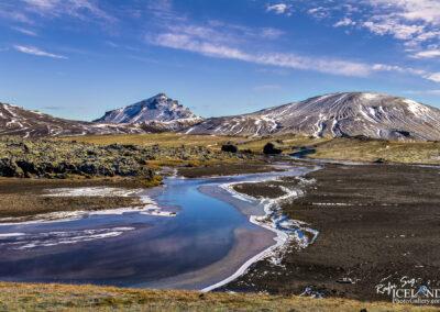Helliskvísl river in the Highlands │ Iceland Landscape Photo