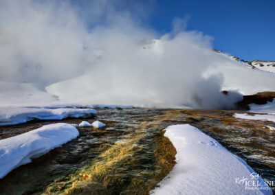 Hengill Geothermal area in winter │ Iceland Landscape
