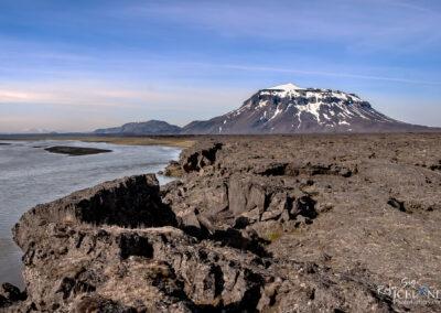 Herðubreið Mountain in the Highlands │ Iceland Landscape Pho