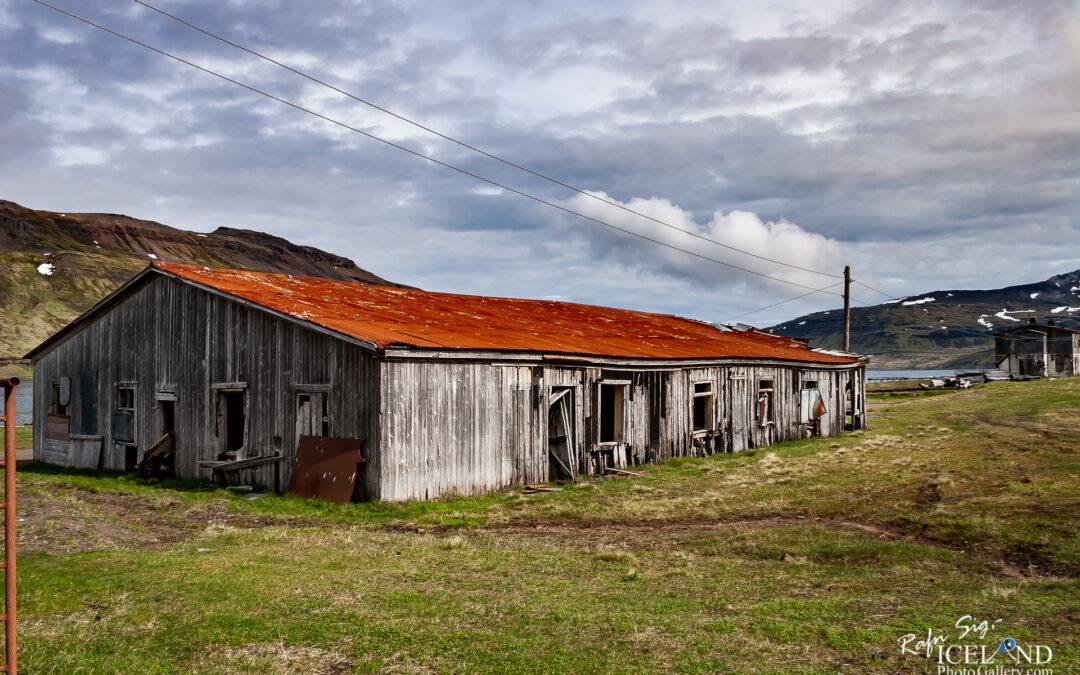 Ingólfsfjörður Herring factory │ Iceland Landscape photo