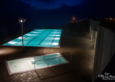Hofsós Swimming pool – North │ Iceland City Photography