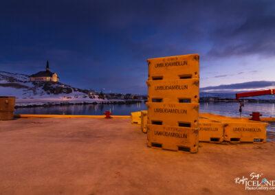 Hólmavík village - Westfjords │ Iceland City Photography