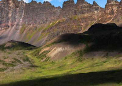 Hraundrangi in Öxnadalur and Hörgárdalur valleys – North