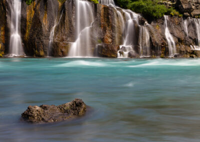 Hraunfossar Waterfalls - West │ Iceland Landscape Photography