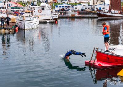 Húsavík harbor – North │ Iceland City Photography