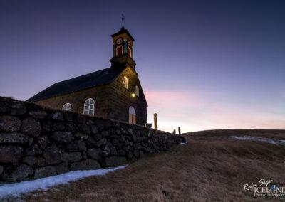 Hvalsneskirkja Church - South West │ Iceland City Photography