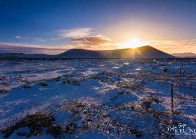 Hverfell volcano at Lake Mývatn - North │ Iceland Landscape
