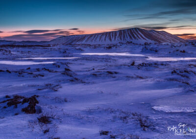 Hverfell volcano at Mývatn Lake - North │ Iceland Landscape