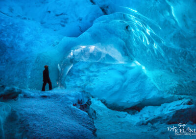 Ice Cave In Vatnajokull Glacier - South │ Iceland Landscape P