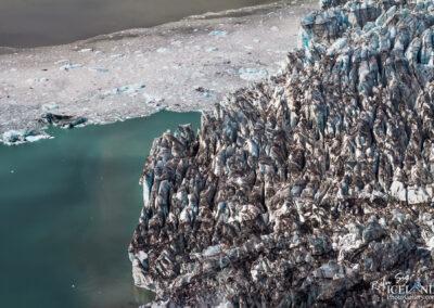 Jökulsárlón - Glacier Lagoon │ Iceland Landscape from Air