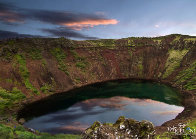 Kerið Volcanic crater - South │ Iceland Landscape Photograph