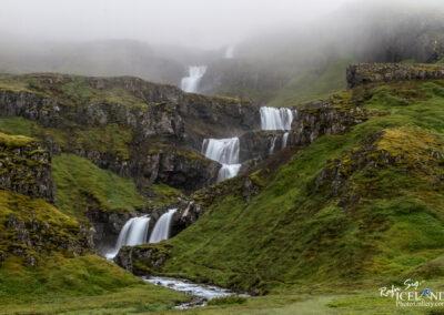 Klifbrekkufossar waterfalls – Eastfjords │ Iceland Landscape