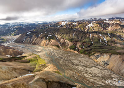 Landmannalaugar area in the Highlands │ Iceland Landscape from