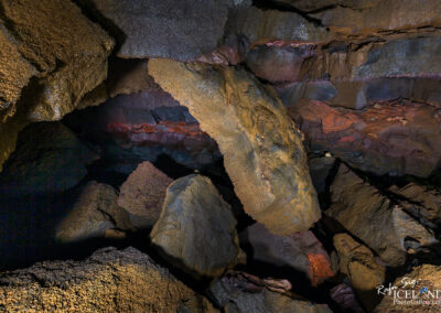 Lava caving in Skúlatúnshraun - South West │ Iceland Landsca