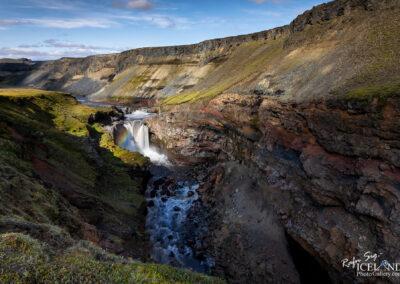 Markarfljótsfoss in Markarfljótsgljúfri Gorge in Syðri-Fjall