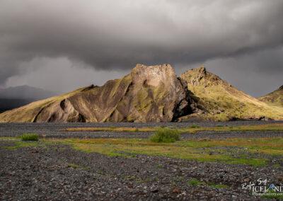 Merkurrani Mountain in Þórsmörk - South │ Iceland Landscap