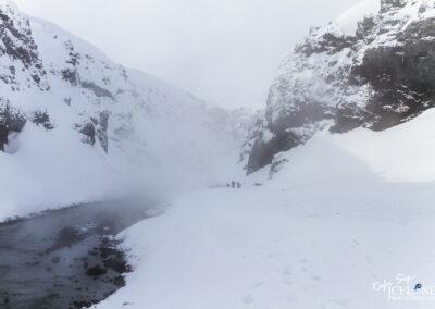 Natural bath at Vatnajökull Glacier Highlands │ Iceland