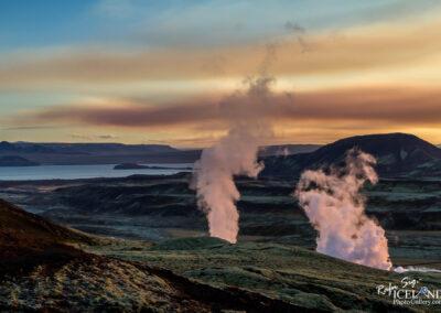 Nesjavellir Geaothermal area - South West │ Iceland Landscape