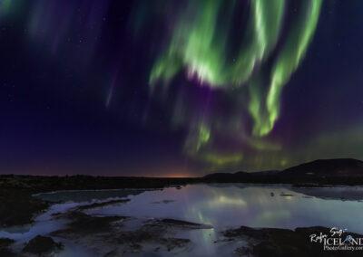 Northern lights at Bláa Lónið │ Iceland