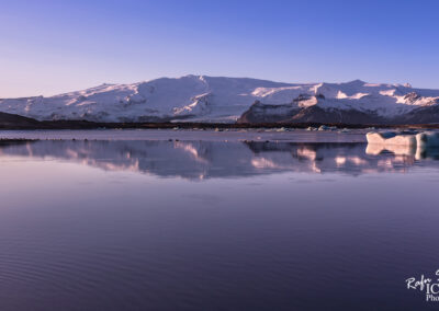 Öræfajökull Volcano ice cab - South │ Iceland Landscape Pho